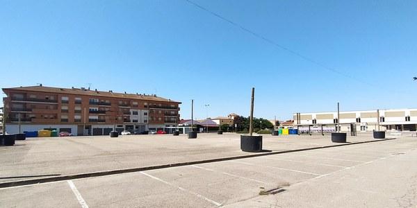 Imatge de la plaça Fondandana en l'actualitat