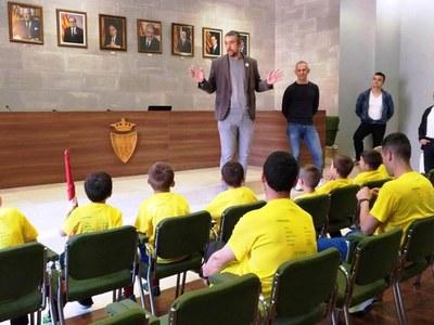 L'equip Pre-benjamí A  del Club Futbol Agramunt- Escola Gerard Gatell líder del campionat