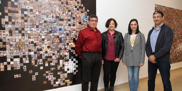 Inauguració de la mostra de Pilar Rosado a l'Espai Guinovart