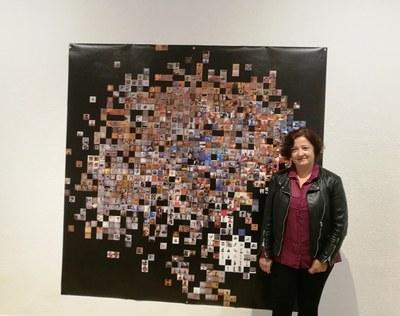 Inauguració de la mostra de Pilar Rosado