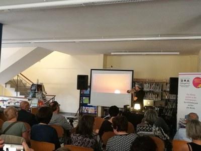 Lluís Fortuny presenta espectacle a Agramunt
