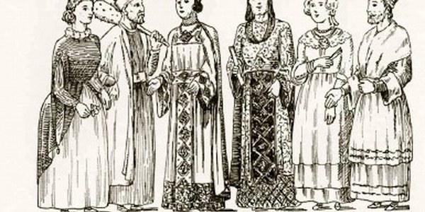 Gravat del 1908 del Costumari Català de Joan Amades on apareixen els Gegants d'Agramunt