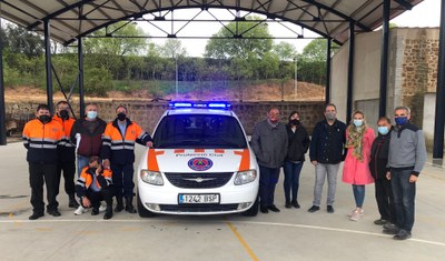 MUNICIPIS DEL BAIX SIÓ ADQUIREIXEN UN COTXE PER AL COS DE PROTECCIÓ CIVIL