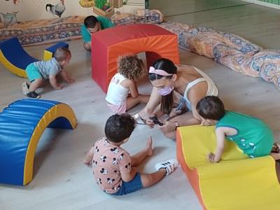 Nou servei de casal d'estiu per a nens de 0 a 3 anys a l'agost
