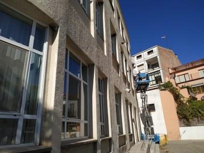 Noves proteccions solars a l'Escola Macià- Companys