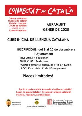 Obertes les inscripcions per un curs inicial de llengua catalana