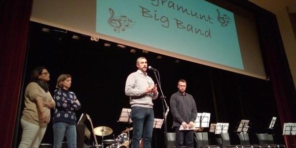 Presentació de la formació musical Big Band