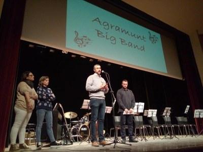 Presentació de la Big Band la nova formació de l'EMMA