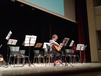 Actuacions del concurs de composició musical