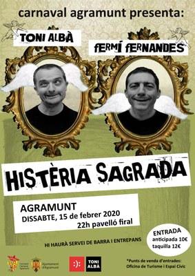 Histeria Sagrada_Agramunt