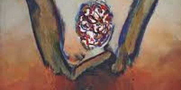 Obra de Josep Guinovart,  Els meus animals (2006) que apareix a la portada del llibre