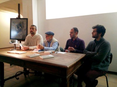 Presentat el llibre 'La Cendra', la novel·la de Guillem Viladot