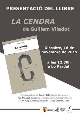 """Presentació reedició llibre """"La Cendra"""""""