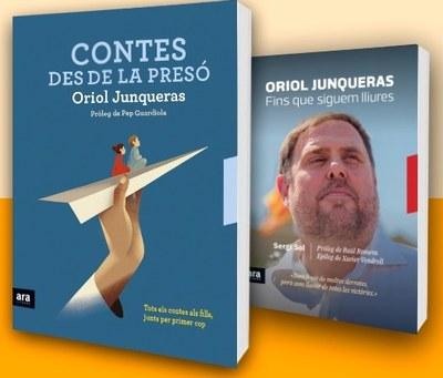 Presentació dels llibres d'Oriol Junqueras