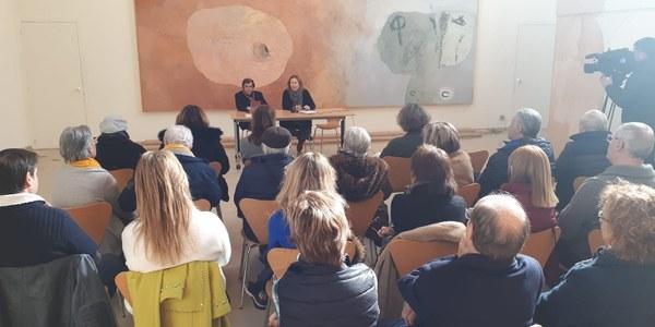 Presentació del llibre a l'Espai Guinovart