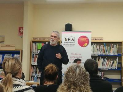 Presentats a Agramunt els llibres d'Oriol Junqueras