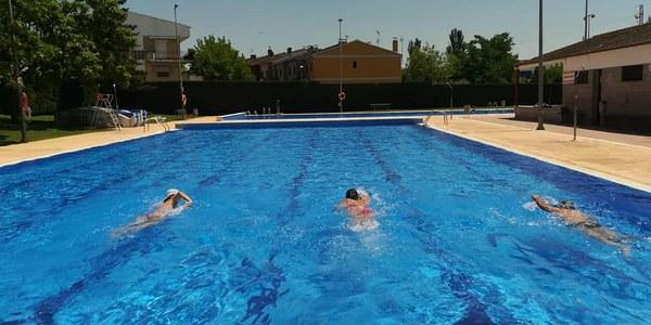 Obertura de les piscines municipals d'Agramunt