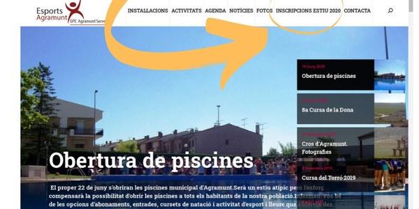 Web del Patronat d'Esports