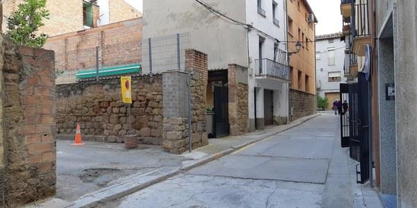 Nou accés temporal al parquing Viladàs.