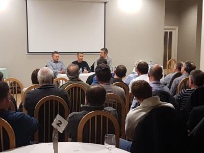 Reunió amb l'Associació de Ramaders per parlar del sector