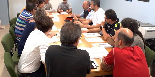 Reunió que s'ha dut a terme a l'Ajuntament d'Agramunt