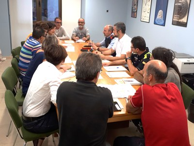 Es reuneix la Junta de Seguretat de la Fira del Torró