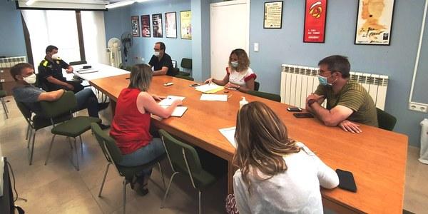 Reunió Comitè Emergència en motiu de la revetlla de Sant Joan