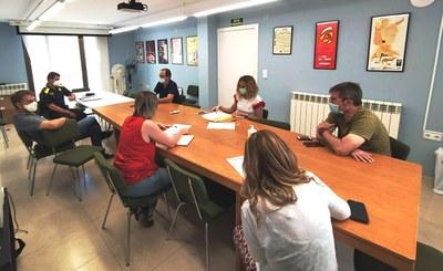 Reunió del Comité d'Emergència per coordinar la prevenció de la Revetlla de Sant Joan
