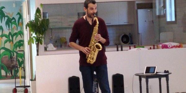 Sessió de música amb Jaume Sanchís