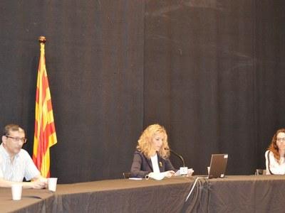 Sílvia Fernàndez escollida nova alcaldessa d'Agramunt