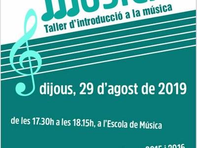 L'EMMA organitza el taller: Fem música