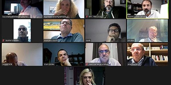 Reunió telemàtica amb alcaldes i alcadesses