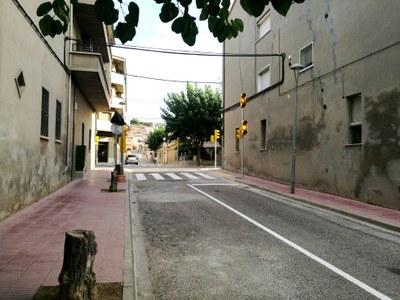 Doble direccionalitat del carrer Passeig Nou
