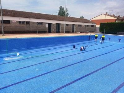 Tot preparat per obrir les piscines municipals el proper dilluns 22 de juny