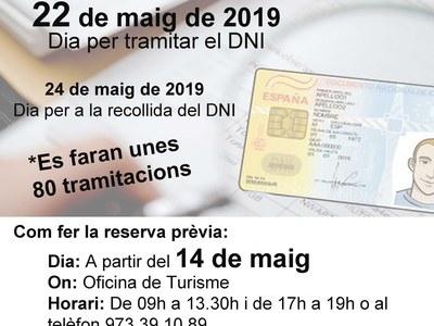 Tramitacionsdel document nacional d'identitat (DNI) a Agramunt