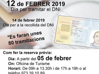 Tramitacions del document nacional d'identitat (DNI) a Agramunt