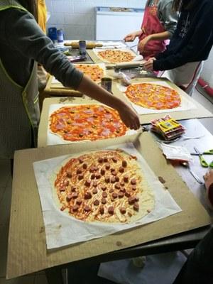 Taller d'elaboració de pizzes