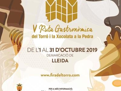 V Ruta Gastronòmica del Torró i de la Xocolata la Pedra