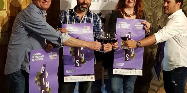 Presentació de la mostra a la Diputació de Lleida