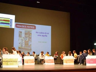 XV Gimcana Lingüística de l'Urgell